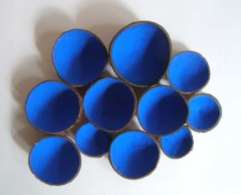Marion Kieft - Blue, 2006 - various materials - 28 x 36 cm