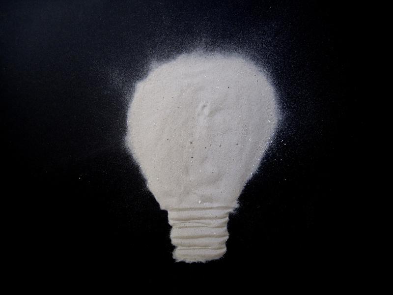 Marion Kieft - Scattered light, 2014 - fotoprint op aluminium