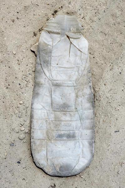 Marion Kieft - Footprint 34, Tanzania 2017 - fotoprint op aluminium/dibond