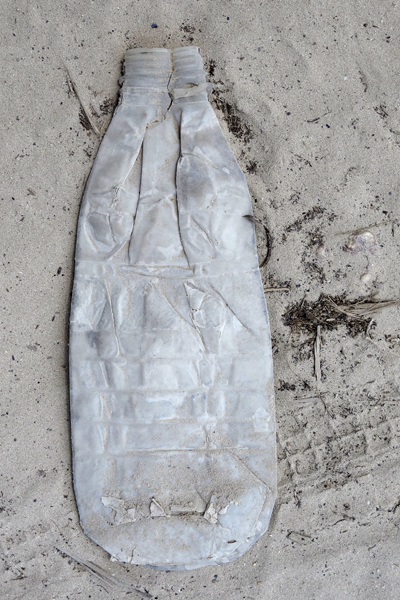 Marion Kieft - Footprint 31, Tanzania 2017 - fotoprint op aluminium/dibond