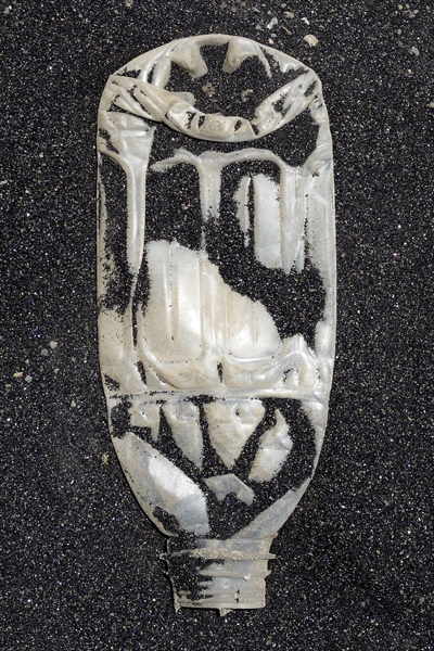 Marion Kieft - Footprint 21, Cabo Verde 2016 - foto op aluminium/dibond