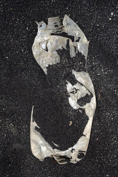 Marion Kieft - Footprint 22, Cabo Verde 2016 - foto op aluminium/dibond