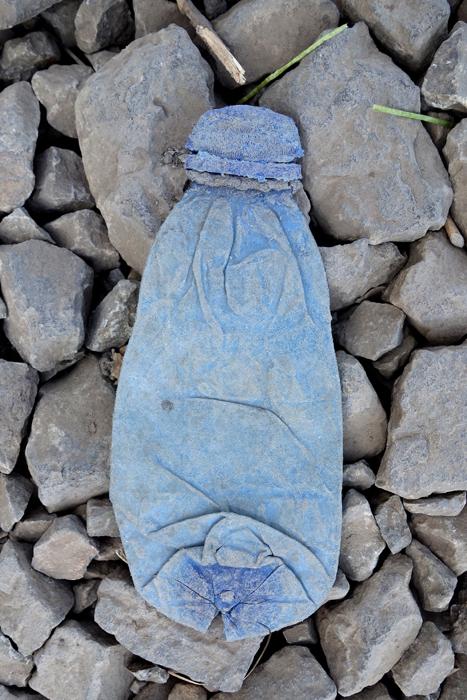Marion Kieft- Footprint 15, Ethiopia 2015 - foto op aluminium/dibond